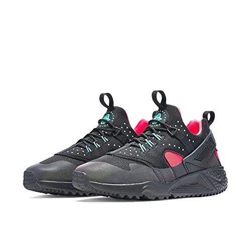 Nike Herren Air Huarache Utility Prm Laufschuhe, Schwarz /Orange - 5