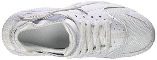 Nike Unisex Huarache Run (GS) Shoe Sneakers, Weiß - 5