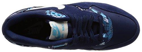 Nike Air Max 1 Print, Damen Sneakers, Blau - 4