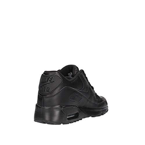 Nike Herren Air Max 90 Ltr (GS) Laufschuhe, Schwarz - 9