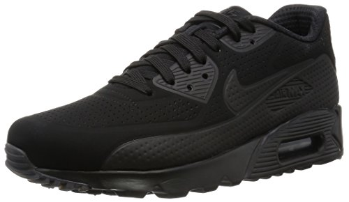 Nike Herren Air Max 90 Ultra Moire Joggingschuhe, Nero / Bianco