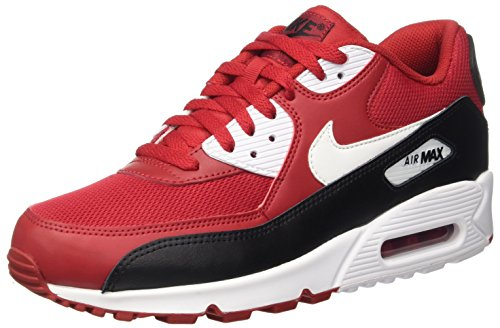 Nike Herren Air Max 90 Essential Sneakers, Rot