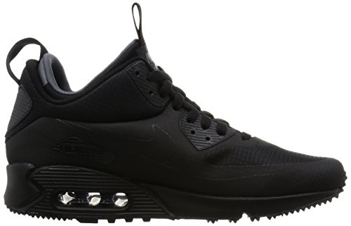 Nike Herren Air Max 90 Mid Winter Sneakers, Black - 6