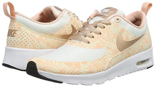 Nike Unisex-Kinder Air Max Thea Print (GS) Sneakers, Weiß - 7