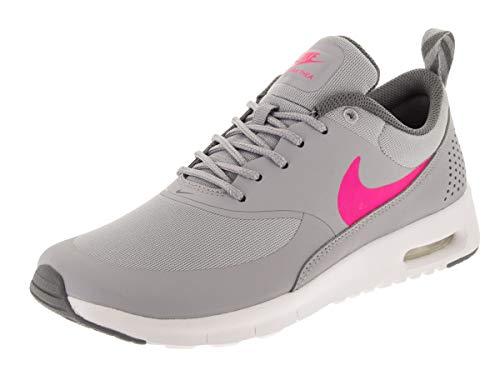 Nike Mädchen Air Max Thea (GS) Laufschuhe, Grau, Rosa,