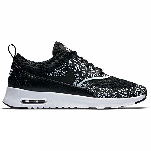 Nike Damen Wmns Air Max Thea Print Turnschuhe, Blanco