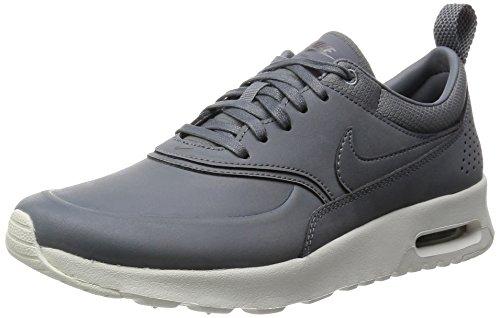 Nike Air Max Thea Premium, Damen Sneakers, Grau
