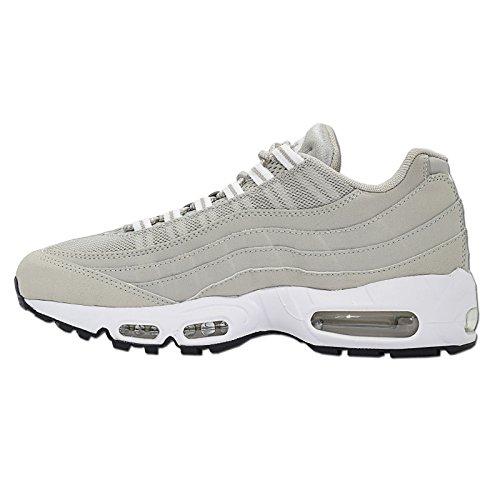 Nike – AIR MAX 95 – Runner – Low Top Sneaker – Grau / Weiß - 4
