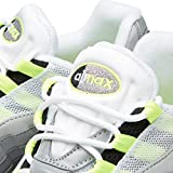 Nike Air Max 95OG Premium 'Reflektierende' schwarz/volt-medium ash-dark Zinn Trainer, Grau - grau - Größe: 43 EU -