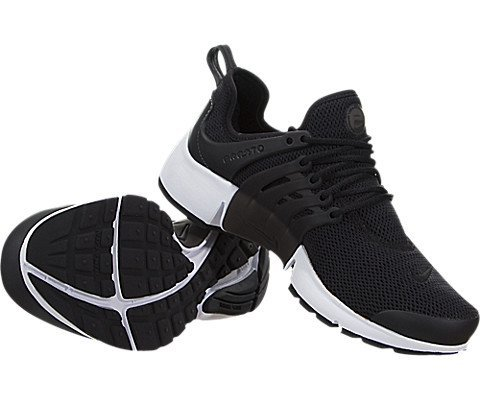 Nike Unisex-Erwachsene W Air Presto Turnschuhe, Schwarz / Schwarz-Weiß - 3