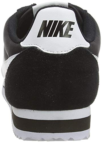 Nike Herren Classic Cortez Nylon Laufschuhe, Schwarz/Weiß - 3