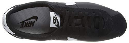 Nike Herren Classic Cortez Nylon Laufschuhe, Schwarz/Weiß - 5