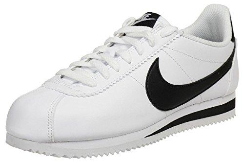 Nike Damen Women's Classic Cortez Leather Shoe Turnschuhe, Elfenbein