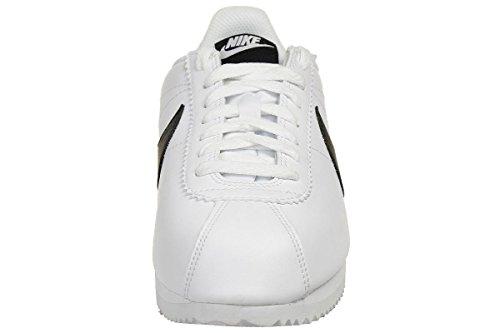 Nike Damen Women's Classic Cortez Leather Shoe Turnschuhe, Elfenbein - 3