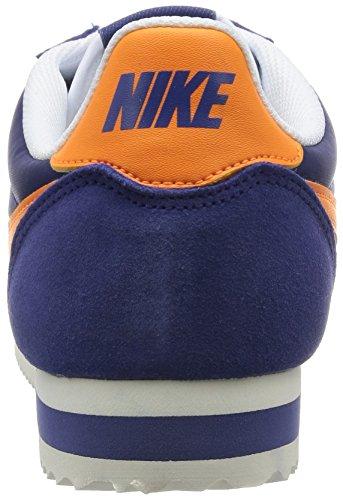 Nike Herren Classic Cortez Nylon Turnschuhe, Azul - 3
