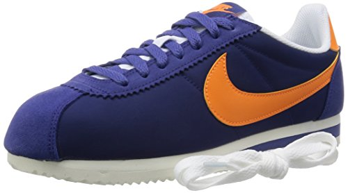 Nike Herren Classic Cortez Nylon Turnschuhe, Azul - 7