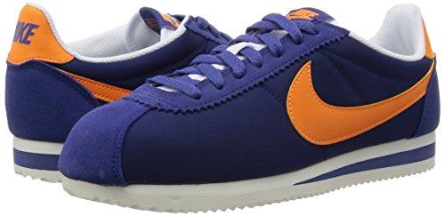Nike Herren Classic Cortez Nylon Turnschuhe, Azul - 8