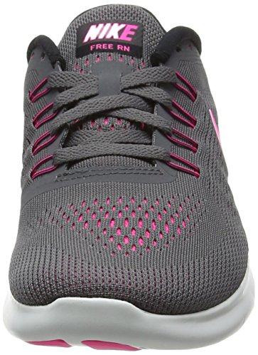 Nike Damen Free Rn Laufschuhe, Grau - 4