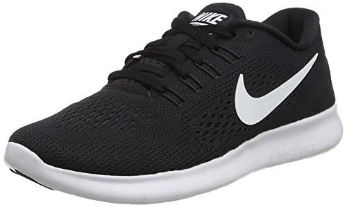 Nike Damen Free Run Laufschuhe, Schwarz