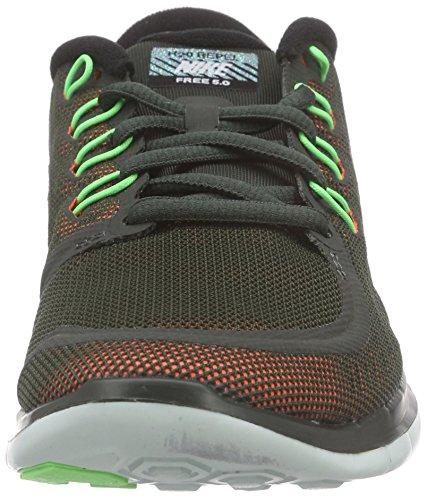 Nike Free 5.0 Flash, Damen Laufschuhe, Braun - 4