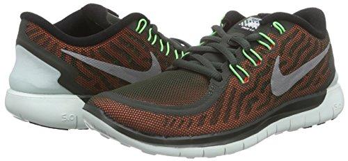 Nike Free 5.0 Flash, Damen Laufschuhe, Braun - 5
