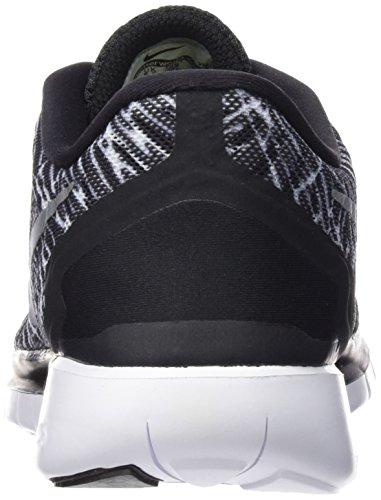 Nike Damen Free 5.0 Print Laufschuhe, Schwarz - 2
