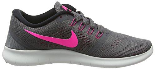 Nike Damen Free Rn Laufschuhe, Grau - 6
