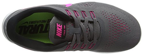 Nike Damen Free Rn Laufschuhe, Grau - 7