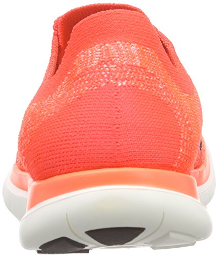 Nike Damen Free 4.0 Flyknit Laufschuhe, Orange - 2