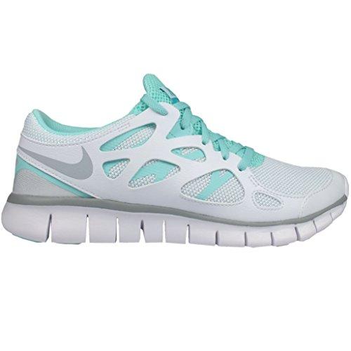 NIKE Wmns Nike Free Run 2, Damen Sportschuhe, Weiss
