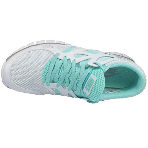 NIKE Wmns Nike Free Run 2, Damen Sportschuhe, Weiss - 3