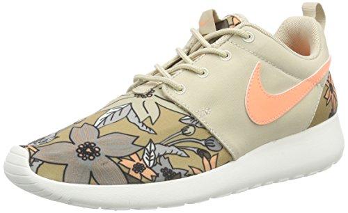 Nike WMNS NIKE ROSHE ONE PRINT PREM, Damen Sneakers, Beige
