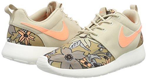 Nike WMNS NIKE ROSHE ONE PRINT PREM, Damen Sneakers, Beige - 5