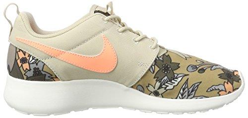 Nike WMNS NIKE ROSHE ONE PRINT PREM, Damen Sneakers, Beige - 6