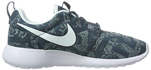 Nike Roshe One Print, Damen Laufschuhe, Blau - 7