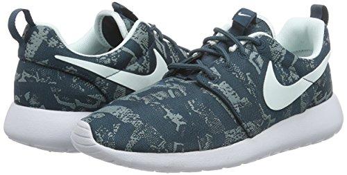 Nike Roshe One Print, Damen Laufschuhe, Blau - 4