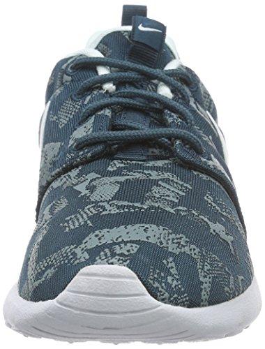 Nike Roshe One Print, Damen Laufschuhe, Blau - 6