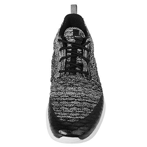 Nike Damen Wmns Roshe One Flyknit Turnschuhe, Schwarz - 3