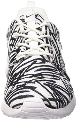 Nike Damen Wmns Roshe One Print Sneakers, Weiß - 3