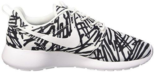 Nike Damen Wmns Roshe One Print Sneakers, Weiß - 4