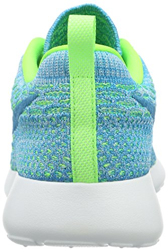 Nike Damen Roshe One Flyknit Sneakers, Türkis - 2