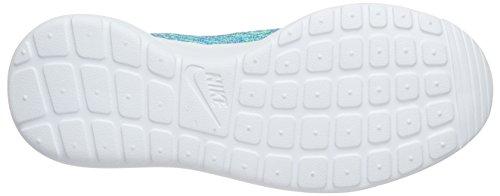Nike Damen Roshe One Flyknit Sneakers, Türkis - 3