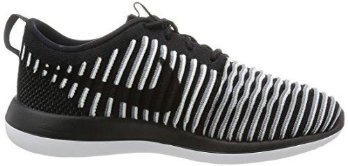 Nike Damen W Roshe Two Flyknit Laufschuhe, Black - 5