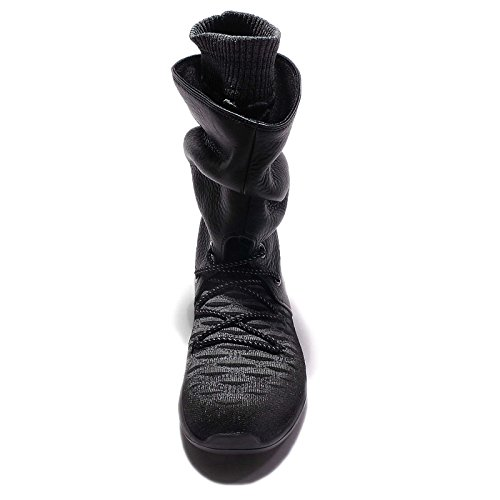 Nike Roshe Two Flyknit Hi Damenschuh schwarz - 5