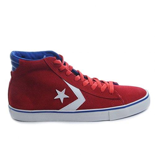 Converse Sneaker Hi Leather Vulc rot