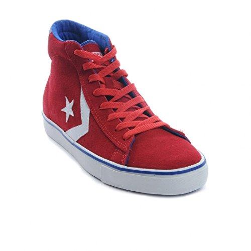 Converse Sneaker Hi Leather Vulc rot - 3