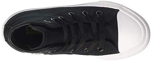 Converse Unisex-Erwachsene Chuck Taylor All Star Ii Hohe Sneakers, Schwarz - 4