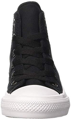 Converse Unisex-Erwachsene Chuck Taylor All Star Ii Hohe Sneakers, Schwarz - 3