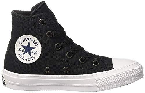 Converse Unisex-Erwachsene Chuck Taylor All Star Ii Hohe Sneakers, Schwarz - 6