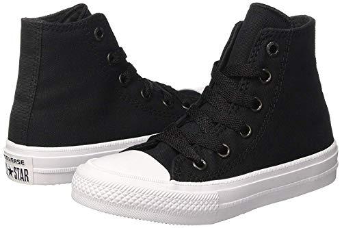 Converse Unisex-Erwachsene Chuck Taylor All Star Ii Hohe Sneakers, Schwarz - 7